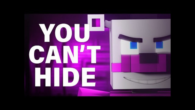 FNAF SISTER LOCATION SONG | You Can't Hide [Minecraft Music Video] by CK9C EnchantedMob