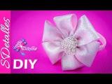 Cintillo o Diadema con flor de 6 pétalos   Video# 77   SDetalles   DIY