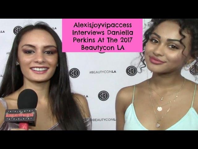 Даниелла дает интервью для Alexisjoyvipaccess