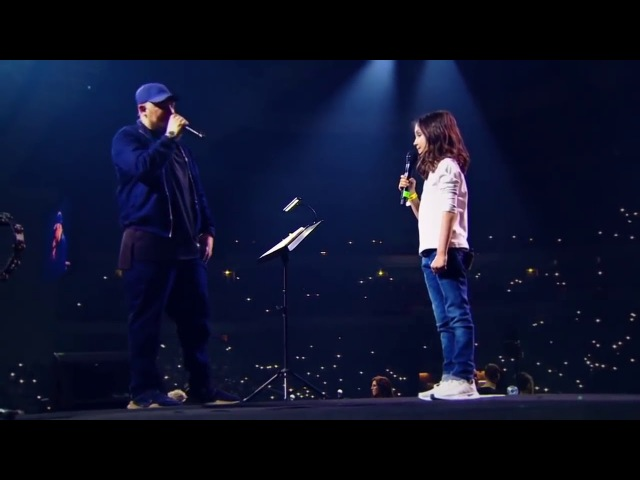 (Баста с дочкой) Баста Сансара ft Маша Вакуленко, Диана Арбенина Олимпийский 360
