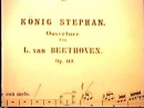 Beethoven Konig Stephan Janowitsky