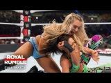 FULL MATCH - Charlotte Flair vs. Bayley - Raw Women's Title Match: Royal Rumble 2017