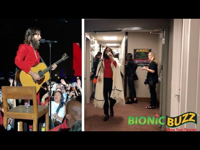 30 Seconds To Mars Backstage / Live at KROQ Almost Acoustic Christmas