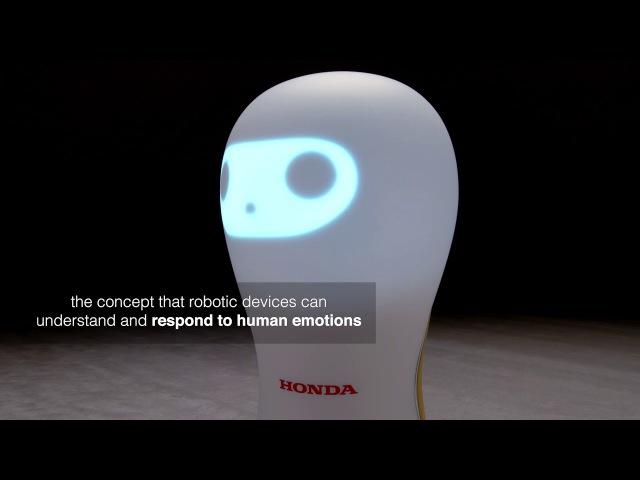Honda Debuts 3E-A18 Robotic Device at CES 2018