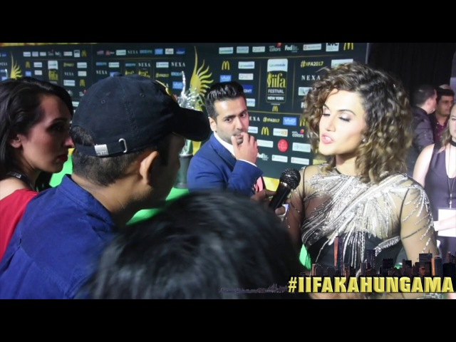 Taapsee Pannu REVEALS Salman Khan's Role In Judwaa 2 | Varun Dhawan | IIFA New York