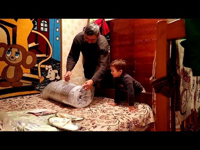 Саша Челяба и распаковка посылки Надимацуты