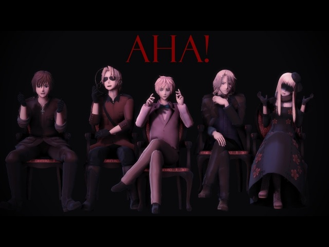 【MMD || 2P! Hetalia】Aha! -For my 4000 subs-