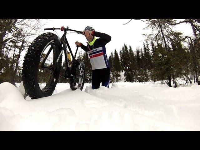 Snowshoe 2XL in (almost) waist deep snow. Part III