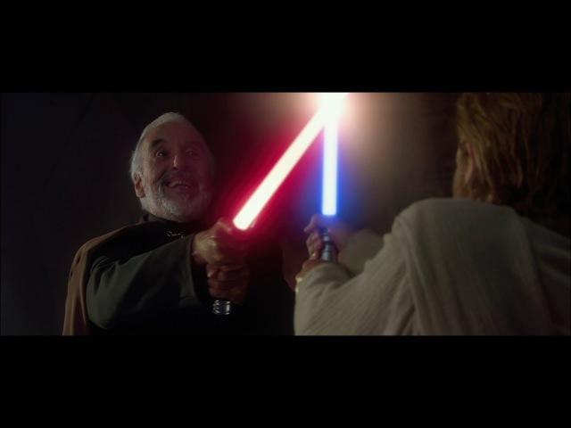 Оби-Ван и Энакин против графа Дуку 1