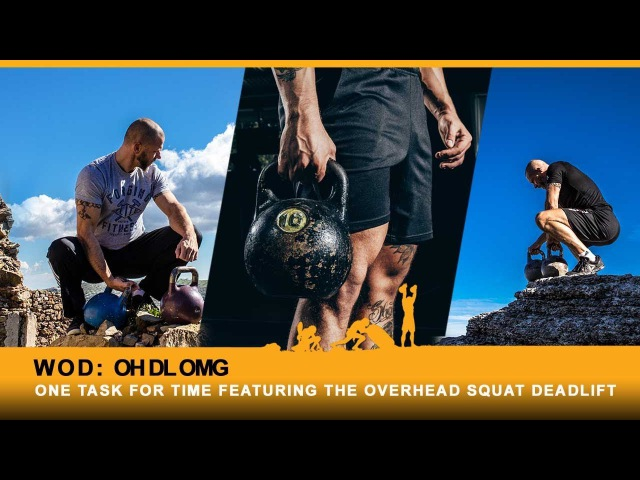 WOD Featuring The Overhead Deadlift: Controversial