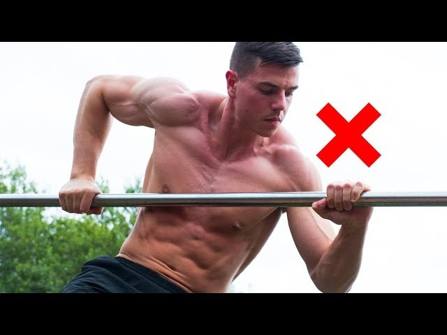 3 Reasons Why You Can't Muscle Up