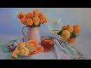 Bodegón al óleo: Naranjas, limas y limones