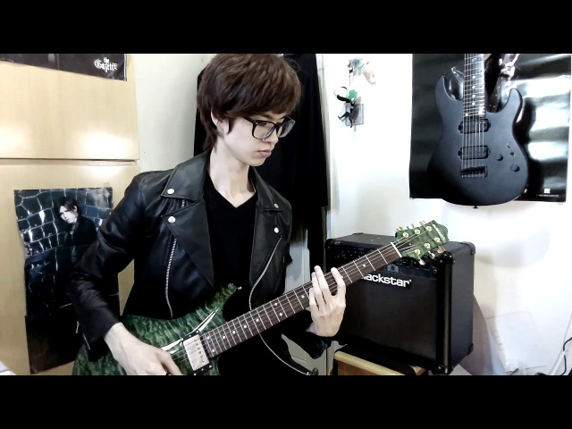 The GazettE - FALLING guitar covered by Moz