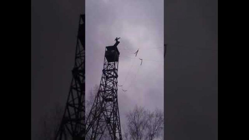 прыжок с вышки, 30 метров