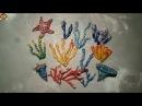 Кораллы разных видов морская звезда из ваты видео мк