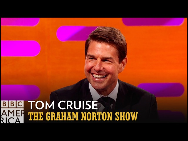 Tom Cruise Breaks Ankle...Continues To Run On It - The Graham Norton Show
