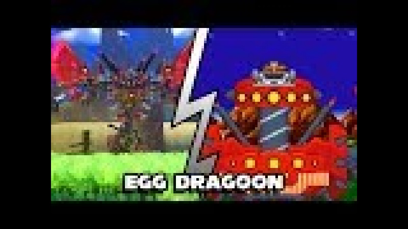 Egg Dragoon bossfight in CLASSIC style! [Sprite animation]