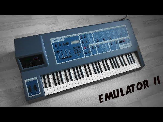 E-MU EMULATOR II - Sampling Synthesizer (1984) Legendary EII sounds