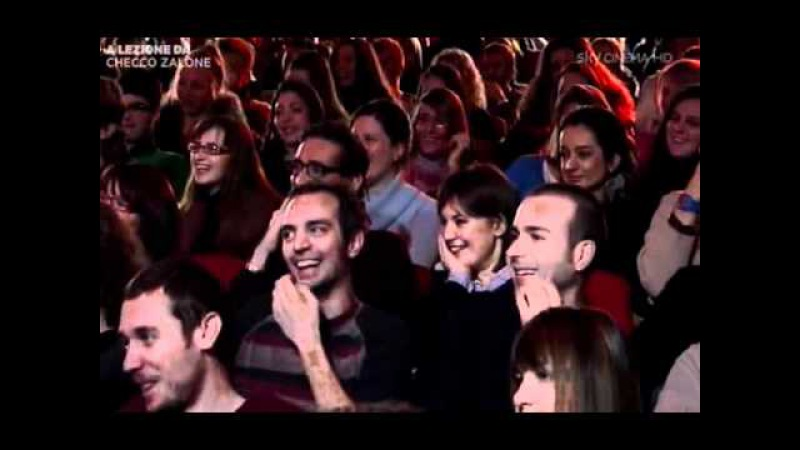 Checco Zalone - IULM Milano - 12_2010 - LE PARODIE (Carmen Consoli - Negramaro).avi