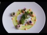 Alasca King Crab &amp Caviar Dish from 2 Michelin Chef Jean-Luc Rocha
