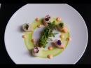 Alasca King Crab Caviar Dish from 2 Michelin Chef Jean-Luc Rocha