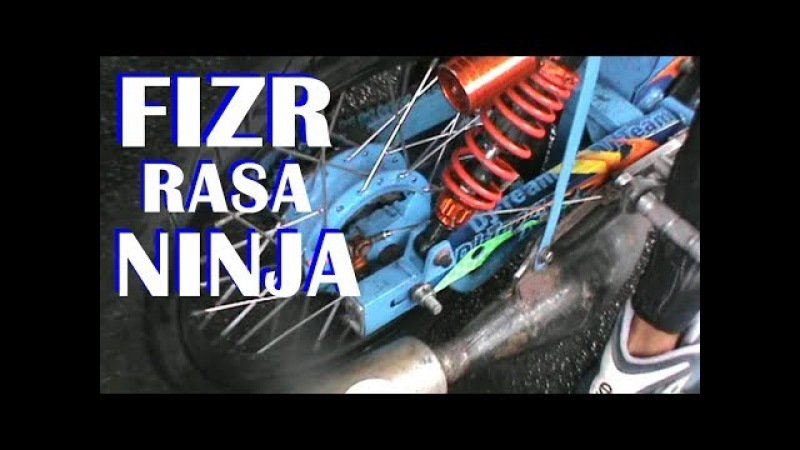 SANGAR !! FIZR FIZR DRAG RASA NINJA | DRAG BIKE