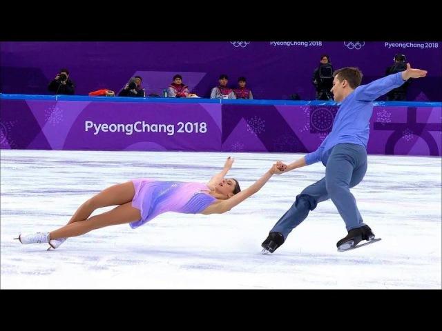 Пары. Короткая программа. Фигурное катание. XXIII Олимпийские зимние игры