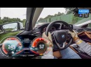 2018 BMW 530d (265hp) - 0-250 km/h acceleration (60FPS)
