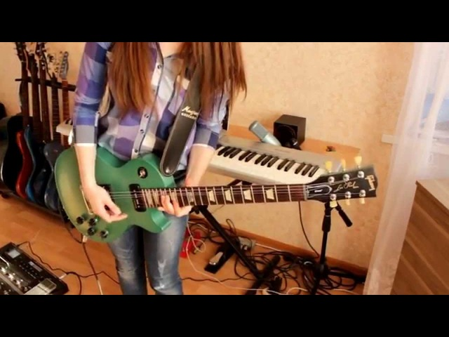 Muse - Psycho (guitar cover HD)