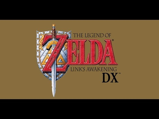 The Legend of Zelda: Link's Awakening DX(GBC) часть 1