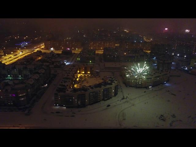 Новый год в Череповце. Если вы пропустили салют :)