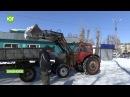 Шушенское в снежном плену
