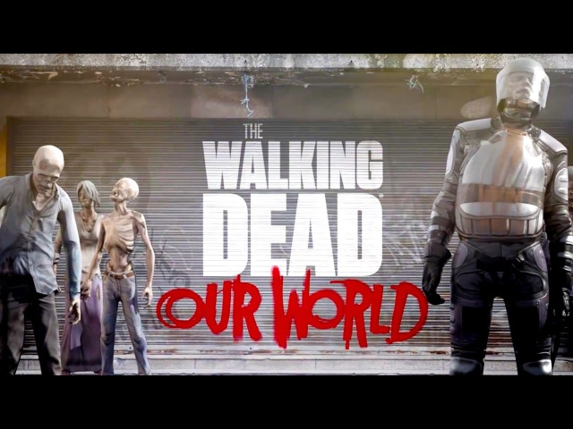 The Walking Dead Our World Announcement Trailer