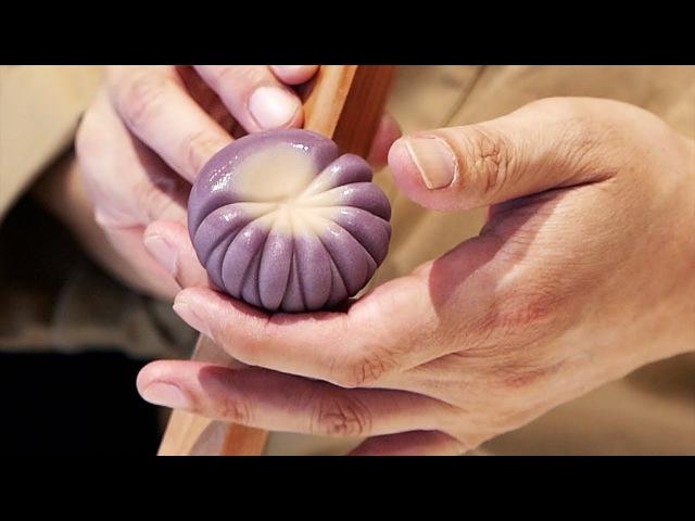 JAPANESE CANDY ART Incredible WAGASHI Traditional Sweets Tokyo Japan