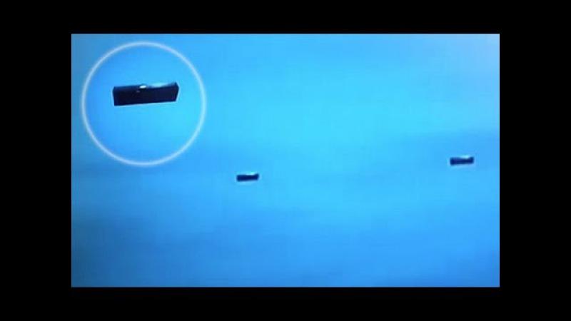 Two UFO's Seen From NASA Satellite BLACK BOXES