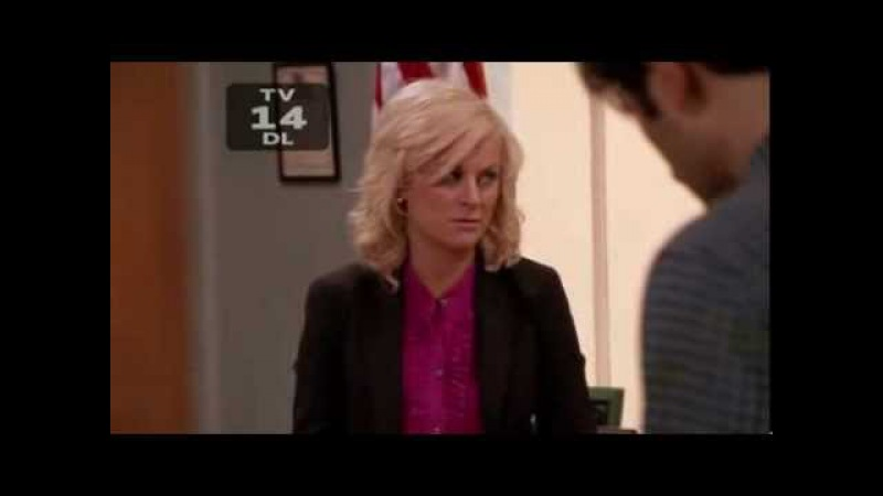 Parks and Recreation - Ben and Leslie are hungover