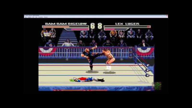 WWF Wrestlemania Arcade Game - BabBam Bigelow Combo