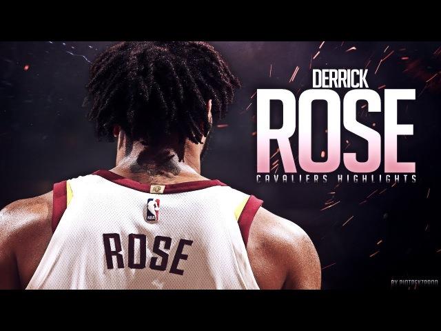 Derrick Rose Best Cavaliers Moments 2018 ᴴᴰ