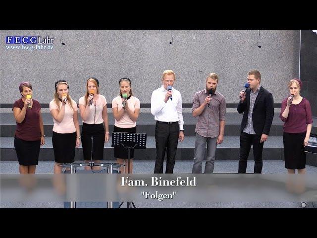 FECG Lahr - Fam. Binefeld - Folgen