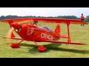 PITTS CHALLENGER III ORACLE RC SCALE MODEL AIRPLANE DEMO FLIGHT Pitts Meeting Vechta Germany 2016