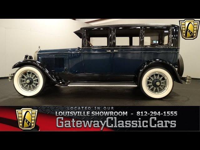 1926 Buick Model 50 - Louisville Showroom - Stock 1220