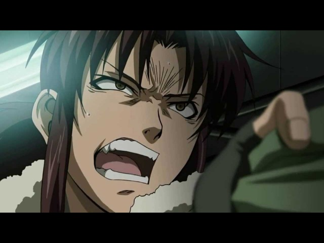 Black Lagoon - Abuse Scene