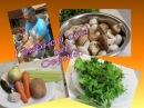 Грибной суп со сливками от Сержа Просто и вкусно Жить со вкусом