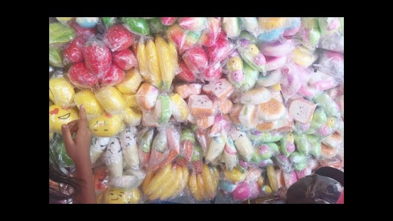 Hunting Beli Mainan Anak Squishy Di Markas Squishy Pasar Gembrong Murah
