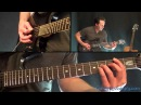 Metallica One Guitar Lesson Pt 2 All Heavy Distorted Rhythm Parts