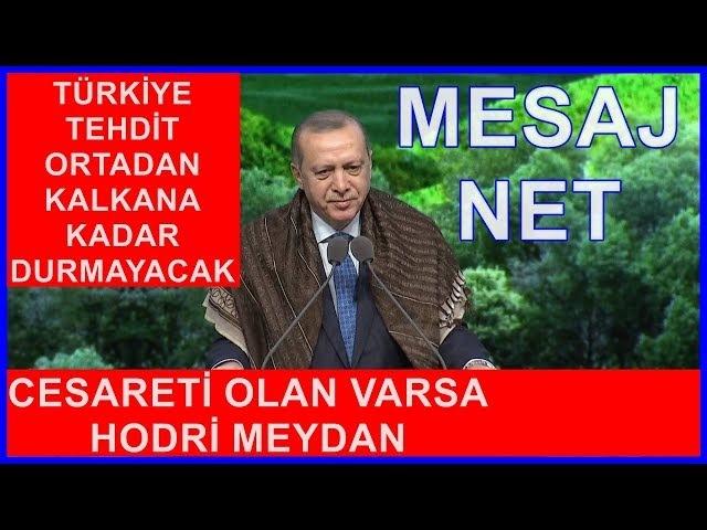Cumhurbaşkanı Erdoğan'ın Milletimizle Birlikte Daha Yeşil Türkiye Konuşması 21.3.2018