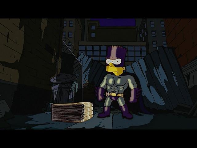 Симпсоны - лучшие моменты. Побег из дома. Бартмен.