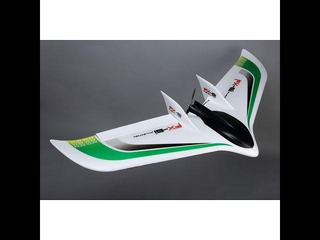 Пошаговая сборка летающего крыла Zeta Phantom FX-61