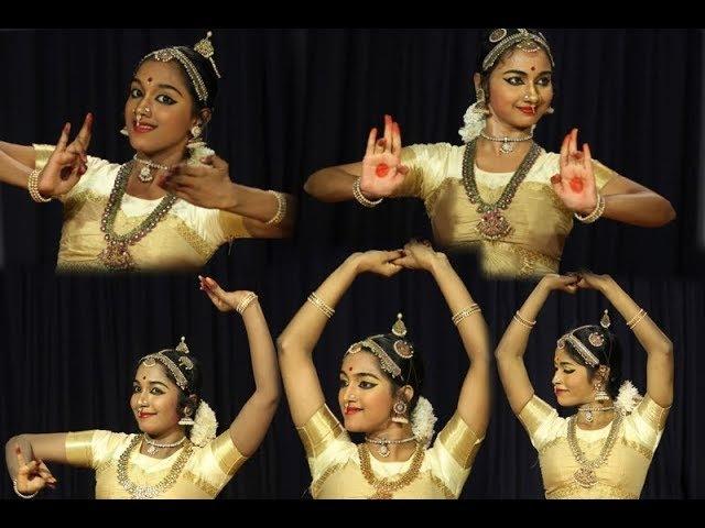 Madurai Sri N Krishnan's Compositions Varnam first half Sridevi Nrithyalaya Bharatanatyam