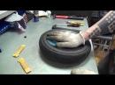 Замена камеры на колесе детской коляски с низкопрофильной покрышкой Замена камеры на колесе коляски